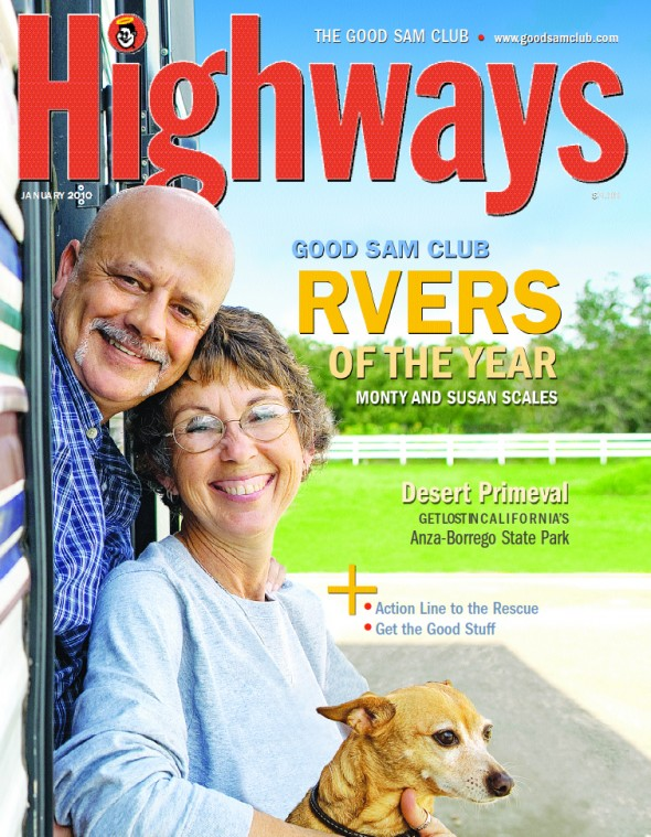 Jan2010 Highways Magazine cover photo by Todd Spoth