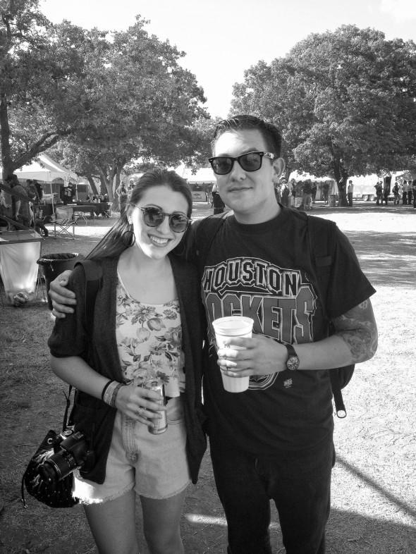 ALEX AND TODD AT FUNFUNFUN FEST 2012